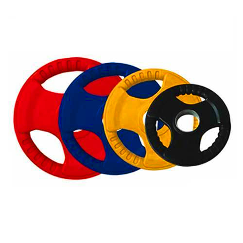 Iron Rubber Coated Gym Plate